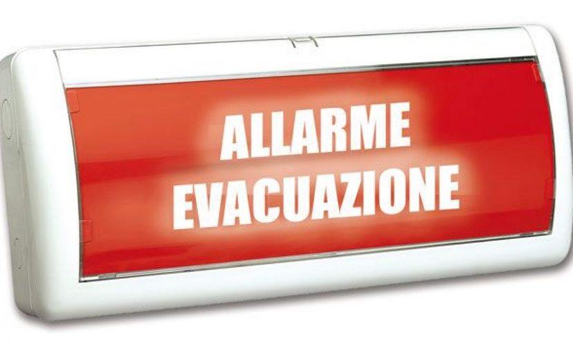 La Prova di Evacuazione ha l'obiettivo di simulare una situazione di emergenza, durante la quale